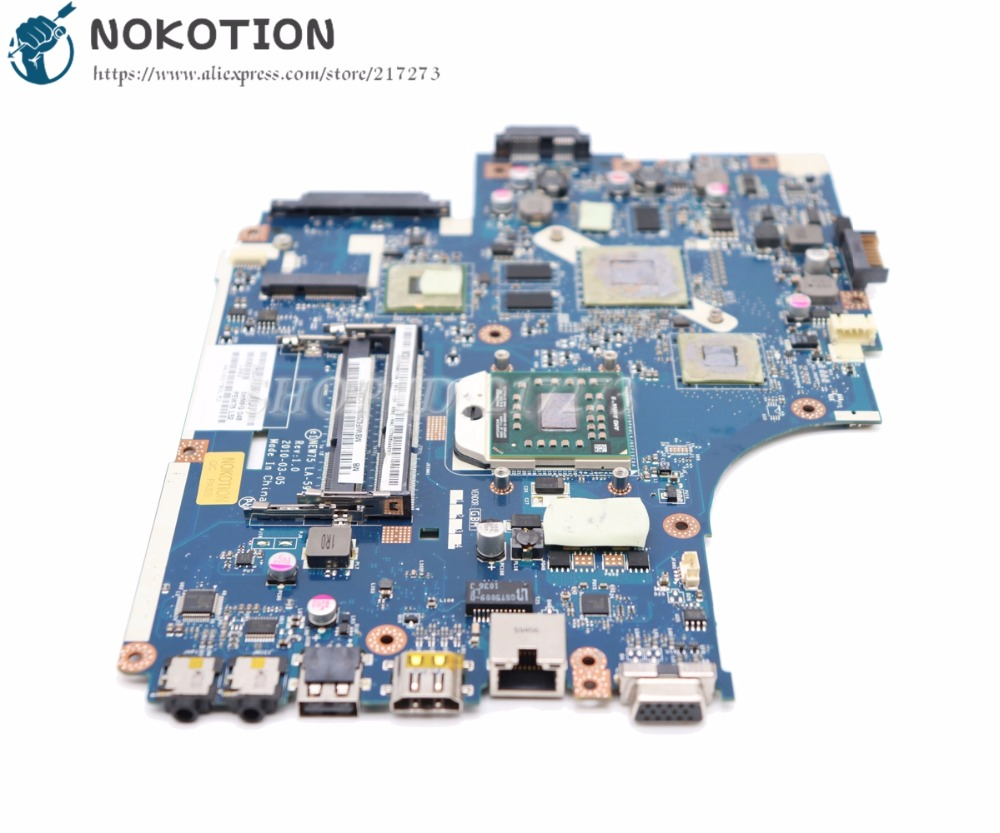 NOKOTION For Acer Aspire 5551 5551G 5552 5552G Laptop Motherboard NEW75 LA-5911P MBPUU02001 MAIN BOARD HD5650M 1GB Free CPU