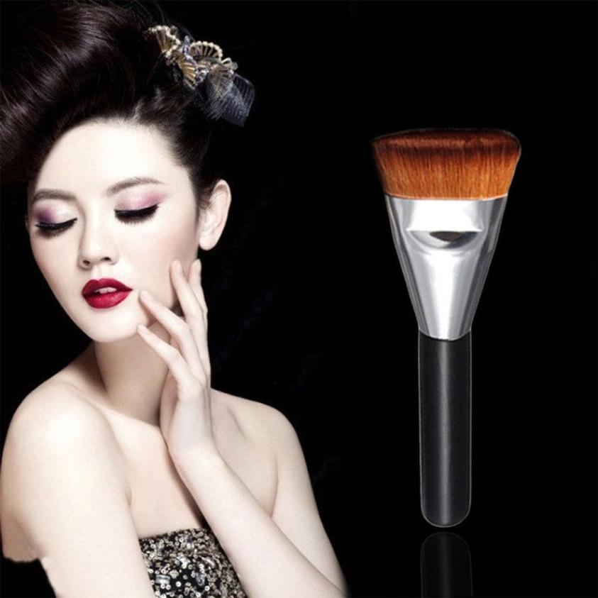 Good Sale Flat Contour Makeup Brush Make up Face Powder Blusher for Women Lady Agu 1