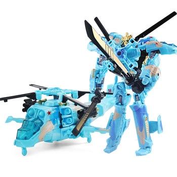 19cm Transformation Car Robot Toys Bumblebee Optimus Prime Megatron Decepticons Jazz Collection Action Figure Gift For Kids - N