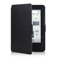 Solque Ultra Slim Ebook Case For Amazon New Kindle 2014 Fundas Luxury PU Leather Flip Cover