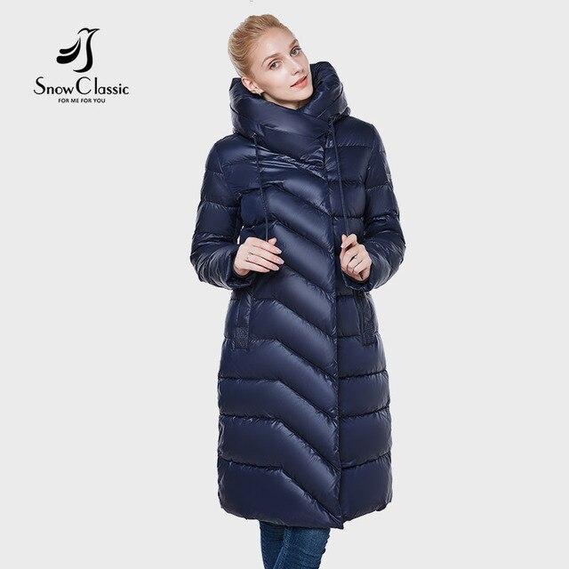 SnowClassic 2018 новая куртка Женская camperas mujer abrigo invierno пальто женщин парка Icepeak толстые деталь украшения модный дизайн