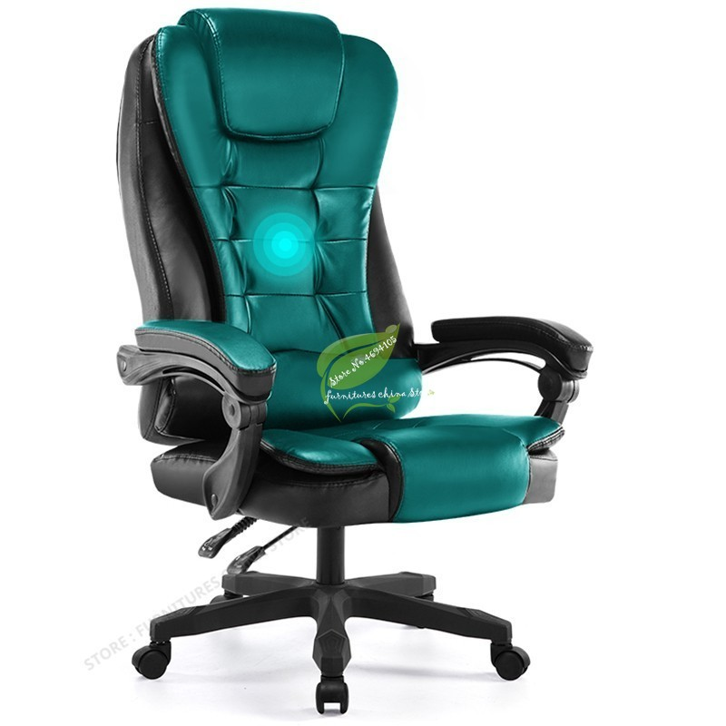 Chair Ergonomic-Massage Pedicure Executive-Gaming-Pc Swivel-Lift Synthetic-Leather