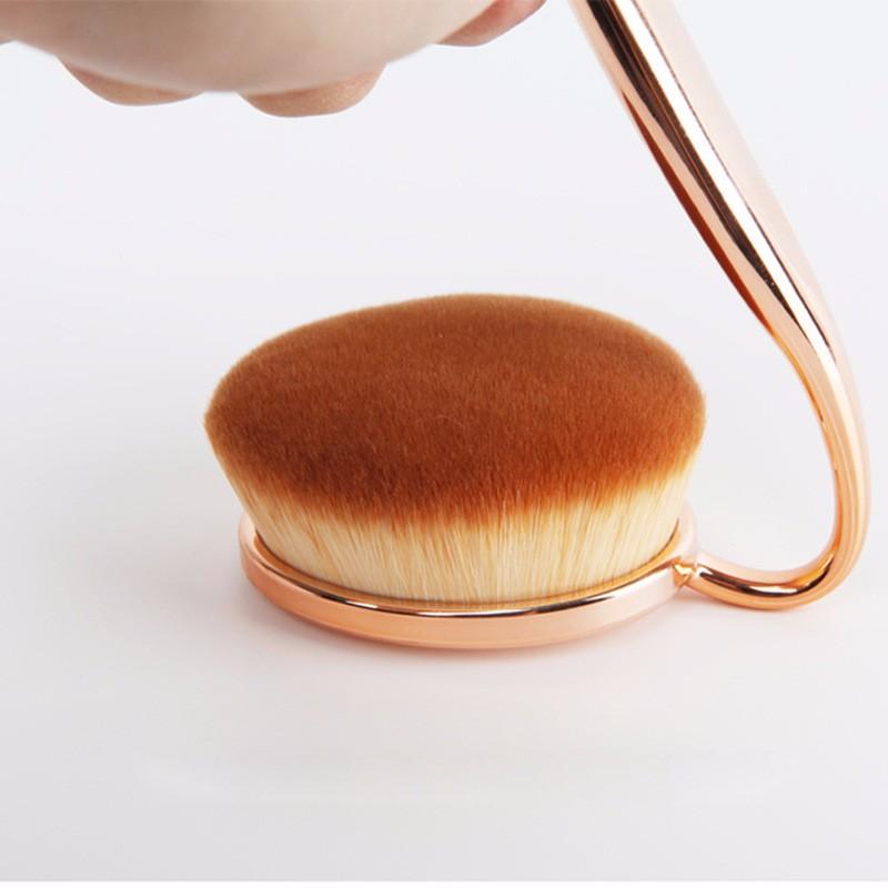 Oval Makeup Brush Set (11)