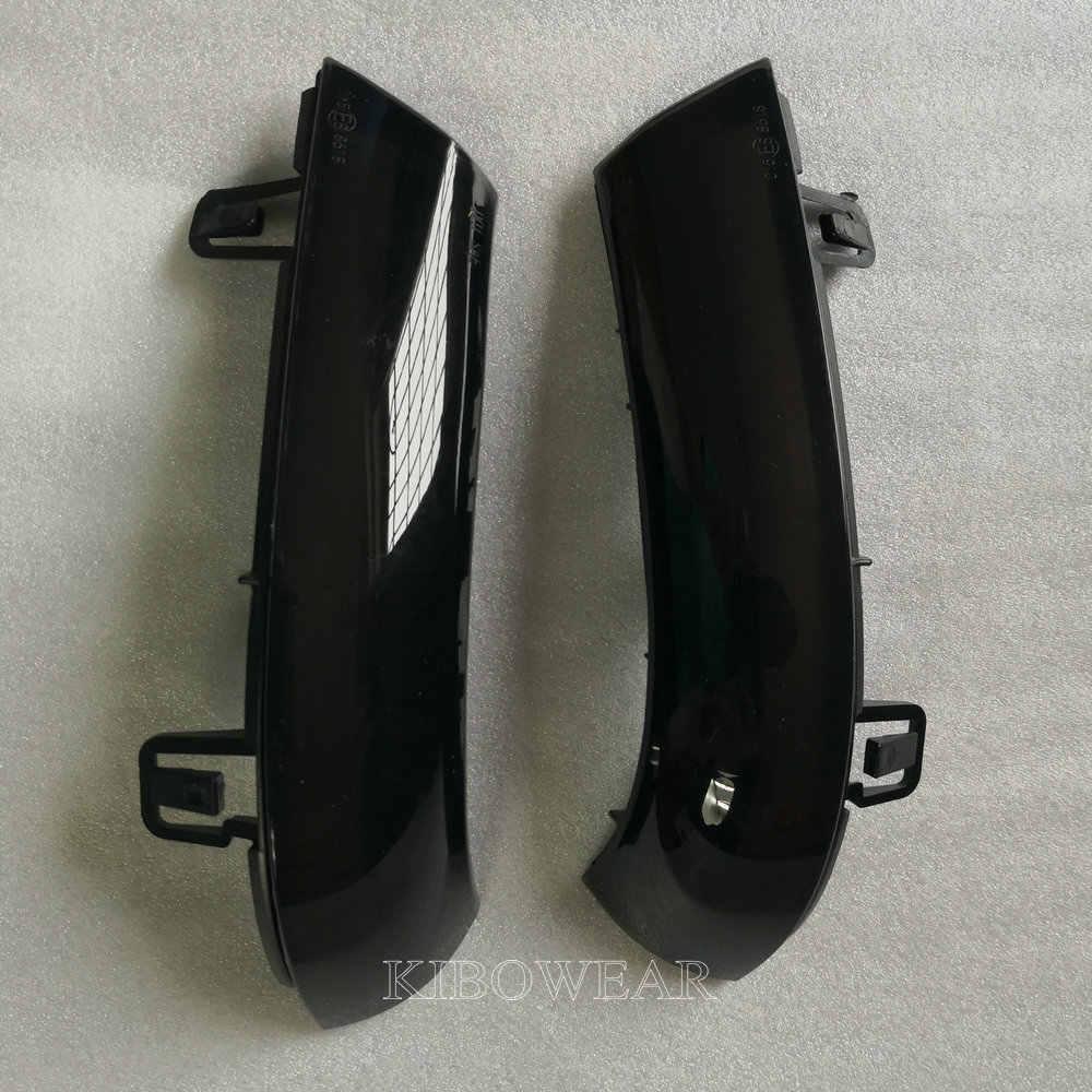 דינמי נצנץ Turn אות LED עבור פולקסווגן גולף 5 GTI Variant Jetta MK5 פאסאט B5.5 B6 בתוספת EOS שרן מעולה מראה אור
