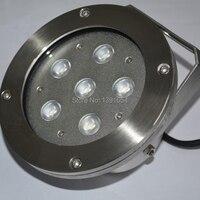 CE ROHS 4 шт./лот 316 нержавеющая сталь DC24V 6 Вт привело фонтан света прожектор IP68