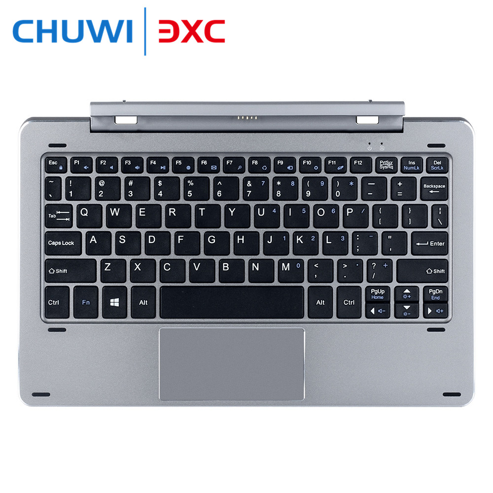 For Chuwi HI10 PRO Keyboard Case Stylus Multi Mode Rotary Shaft With Pogo Pin Magnetic Docking Separable Design