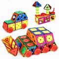 Magnetic Building Blocks Early Education 120pcs/Set DIY Toys Model Kit Plastic Assemble for Children Gear Stacking Blocks