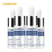 4 STÜCKE LANBENA Hyaluronsäure Serum Schnecke Essenz Gesichtscreme Feuchtigkeits Akne Behandlung Reparatur Whitening Anti Aning Winkles
