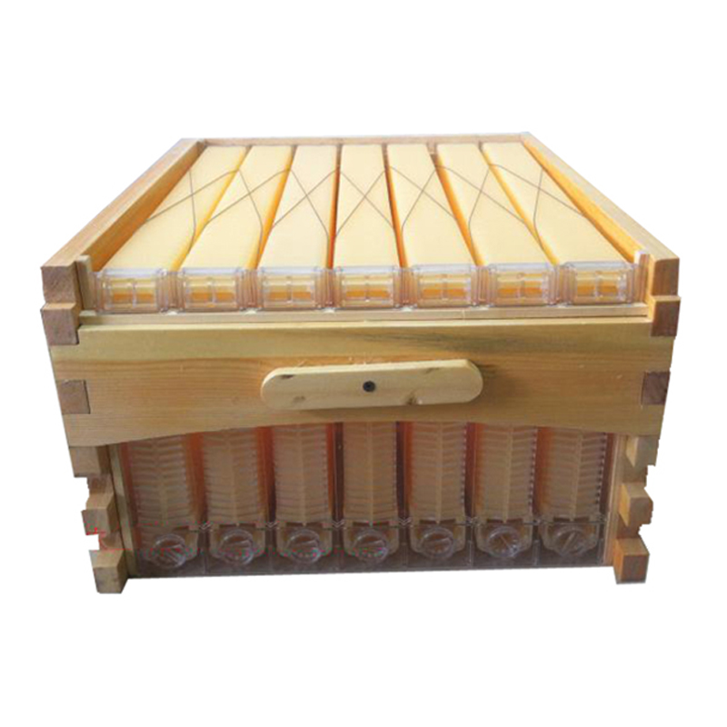 Free ship automatic honey flow hive honeycomb 7 frames with super box beehive colmena hive flow for honey bees automation kits 8 frames reversible electric honey extractor