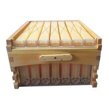 Libérez le bateau automatique de flux de miel ruche en nid d'abeille 7 cadres avec super boîte ruche colmena ruche flux pour les abeilles d'automatisation kits