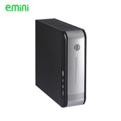 Coque d'ordinateur Realan Mini ITX E 3015 HTPC sans alimentation