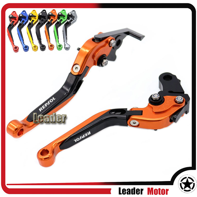 ФОТО For HONDA CBR250R 2011-2013 CBR300R 2014 CBR500/CB500F/X 2013-2014 Motorcycle Folding Extendable Brake Clutch Levers Orange