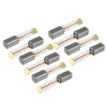 Uxcell 10pcs/5 Pair Mini Motor Carbon Brushes Replacement Fo