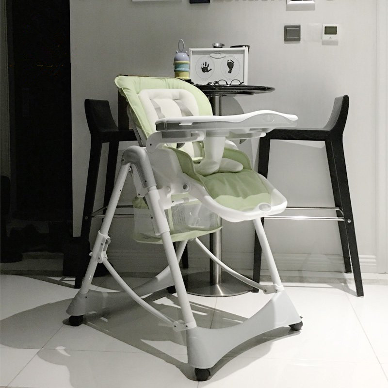 Baby dinner chair portable foldable wooden highchairs