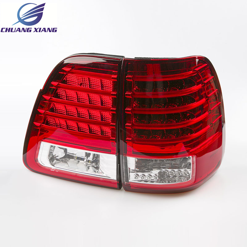 Chuangxiang LED Tail Lamp Rear Light For Toyota Land Cruiser LC100 1998-2007 Accessories for toyota fj cruiser 2007 13 double