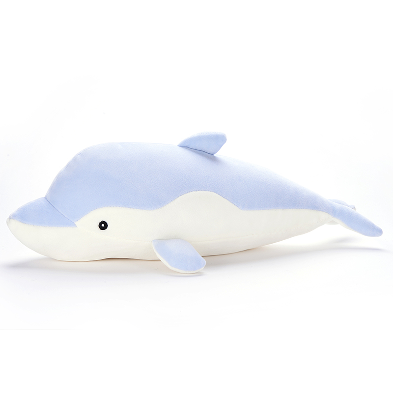 Plush Cartoon Dolphin Toys Super-soft Dolphin Family Decoration Stuffed Animal Dolls Best Gifts for Kids Friend Baby 18 offcia metoo elephant dolls plush stuffed animal toys best gifts for kids girls accompany with kids sleeping