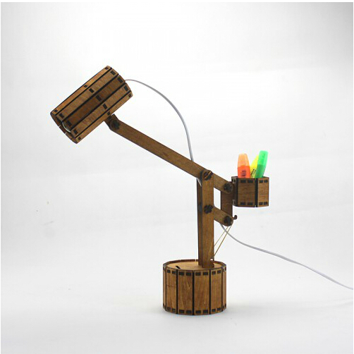 The New Balance Wooden Lamp DIY Assembling Lamp Assembly Students Study The  Living Room Decoration Lamp