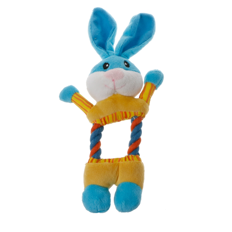 1Pc Pet Plush Toys Interactive Pet Puppy Animal Shape Chew Sound Squeaker Toy Pets
