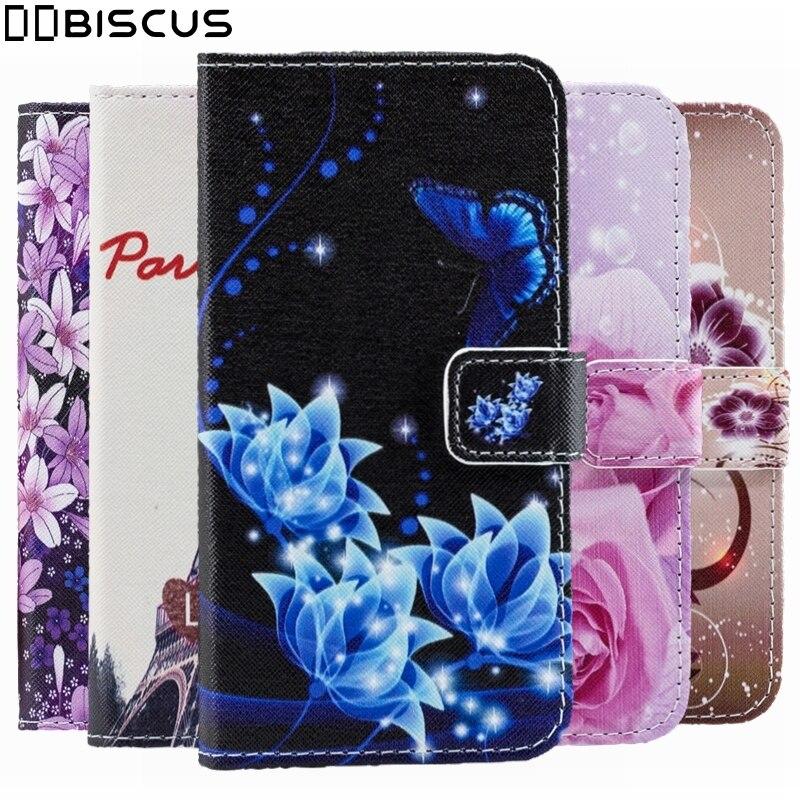 Чехол-книжка с цветочным рисунком и бумажником из мягкой кожи для Samsung Galaxy M20 M30s A10 A20 A30 A40 A50 A70 A20e A10s A30s A20s A51 A71 A01 A50s A70s M10
