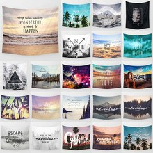 Hot sale fashion adventure theme wall hanging tapestry home decoration tapiz pared 1500mm*1500mm