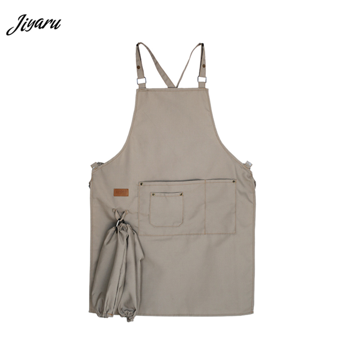 Hot Selling Kitchen Cooking Sleeveless Food Service Bakery Food Service Cook Wear Chef Jacket Restaurant Chef Uniform