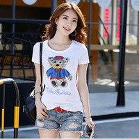 Diamonds T Shirt Women T Shirt Cotton Top Tee Shirt Femme Kawaii Tshirt Women Tops Summer