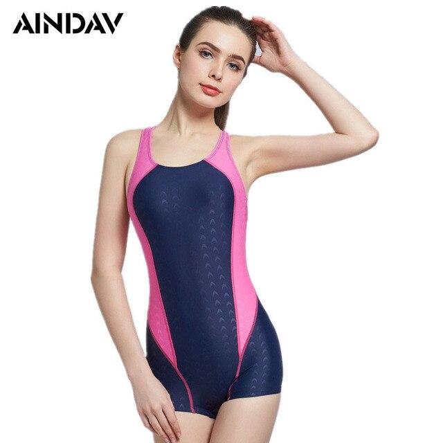 b3da646e420a3 New One Piece Swimsuit Breathable Swimming Suit for Women Bathing Suit  Sports Swimwear Women Padded Bodysuit