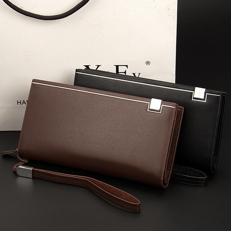 kaffee Teile Männer Business Feste los 120 Lange Schwarzes Baellerry Geldbörse Casual Brieftasche Brieftaschen Wallet Leder PARpEnxq6w