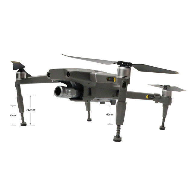 Spring Landing Gear for DJI MAVIC 2 Pro Zoom Front&Rear Extended Landing Leg Heightened Shockproof Protective Gimbal Drone Parts 2