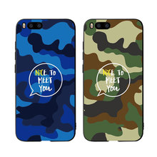 MA Camouflage Pattern Camo Army Soft Phone case cover For Xiaomi Redmi mix2 3 A1 A2 4X 5A 5 Plus 8 lite Note 6Pro Case