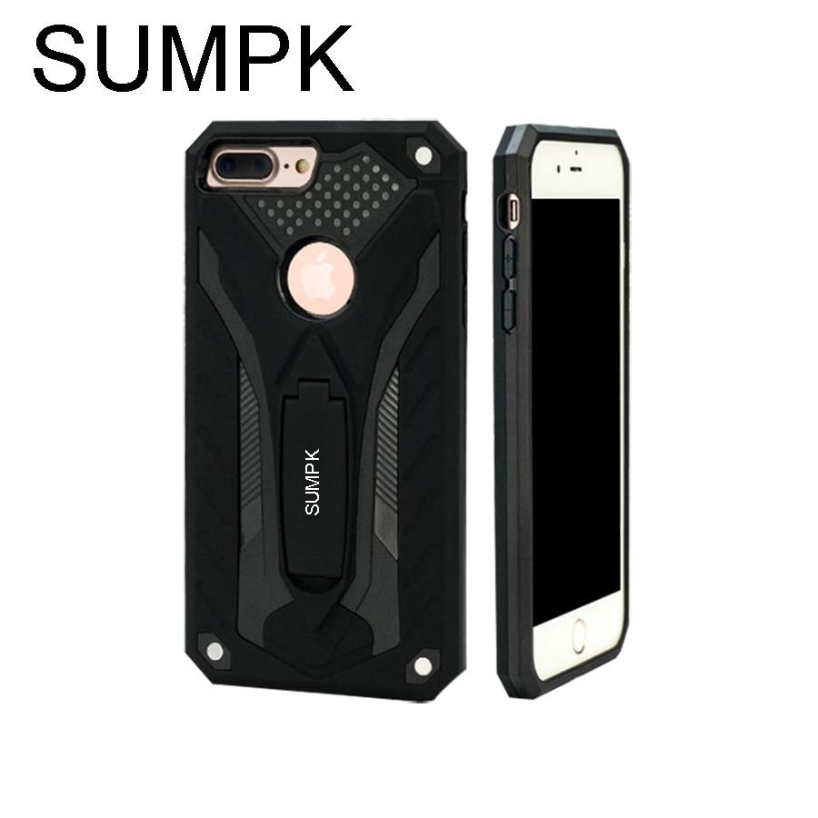 Anti-drop kasus untuk iphone 6 6S PC + TPU Mode Colorful Kasus - Aksesori dan suku cadang ponsel - Foto 1