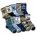 10 pairs/lot children 4-7 years kids socks cartoon 100% cotton child boys girls socks high quality