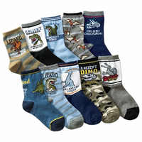10 pares/lote crianças 4-12 anos crianças meias de algodão dos desenhos animados criança meninos meias de alta qualidade