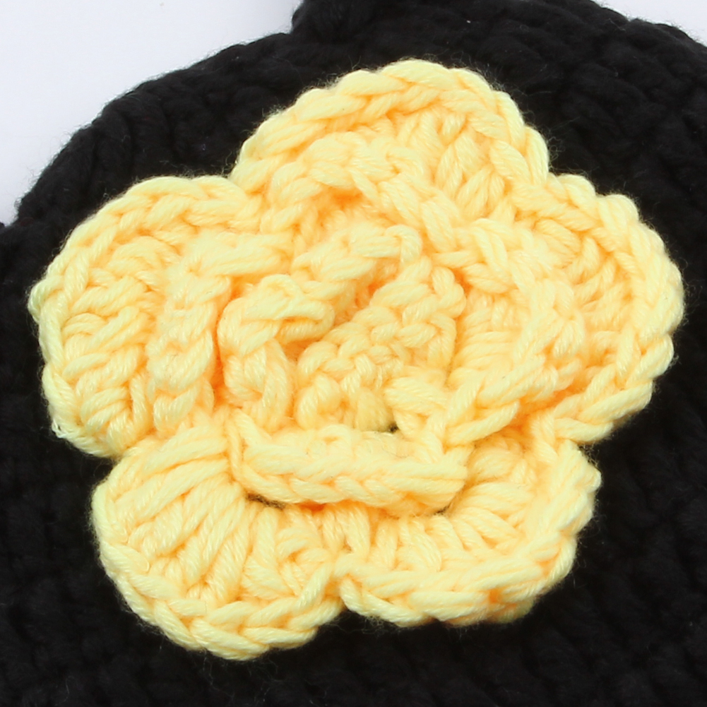 de6ecc09e Handmade Crochet Baby Hat Winter Newborn Photography Prop Infant Baby Girls  Boys Bee Knit Costume Outfits-in Hats & Caps from Mother & Kids on ...