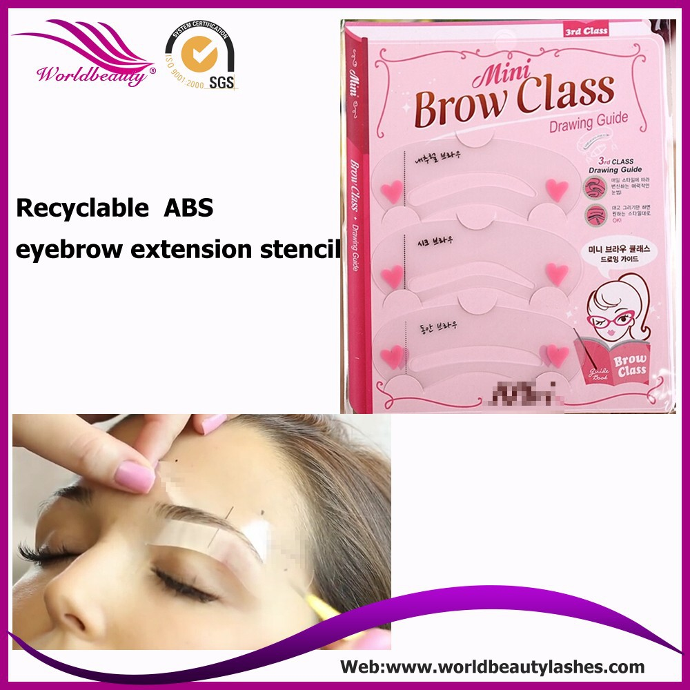 Free Shipping 5pcs lot Grooming Shaping DIY Beauty Eyebrow Template Stencils Make up Tools Accessories