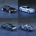 Kyosho OEM 1: 64 modelos de automóviles de aleación de Mercedes Benz CLK SLS 190E AMG coche deportivo de lujo serie de juguetes para niños a granel freeshipping
