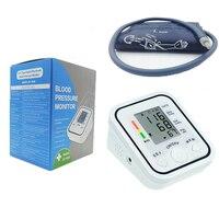 2019 New Arrival Digital bp Blood Pressure Monitor BP 826 Meter Sphygmomanometer Cuff For Health Care Pulse Heart Rate Monitor