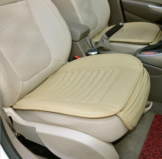 Jastëkët për ulëset e shoferëve të automjeteve Bamboo qymyr druri Makina e përparme jastëk e makinës Mbulesa prej lëkure jastëk Veshja e rezistencës së veshjeve