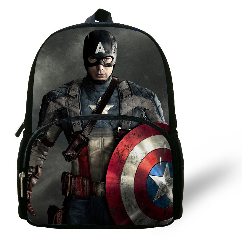 Aliexpress Cool 12 Inch Mochila Captain America Backpack The Avengers School Bag For Boys Aged 1 6 Cartoon Kids Daily From
