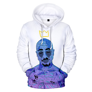 Image 2 - Nouvelle arrivée 2PAC 3D sweat à capuche pour homme/femmes mode décontracté Harajuku Hip Hop Streetwear 2PAC 3D hommes Hoodies et sweat