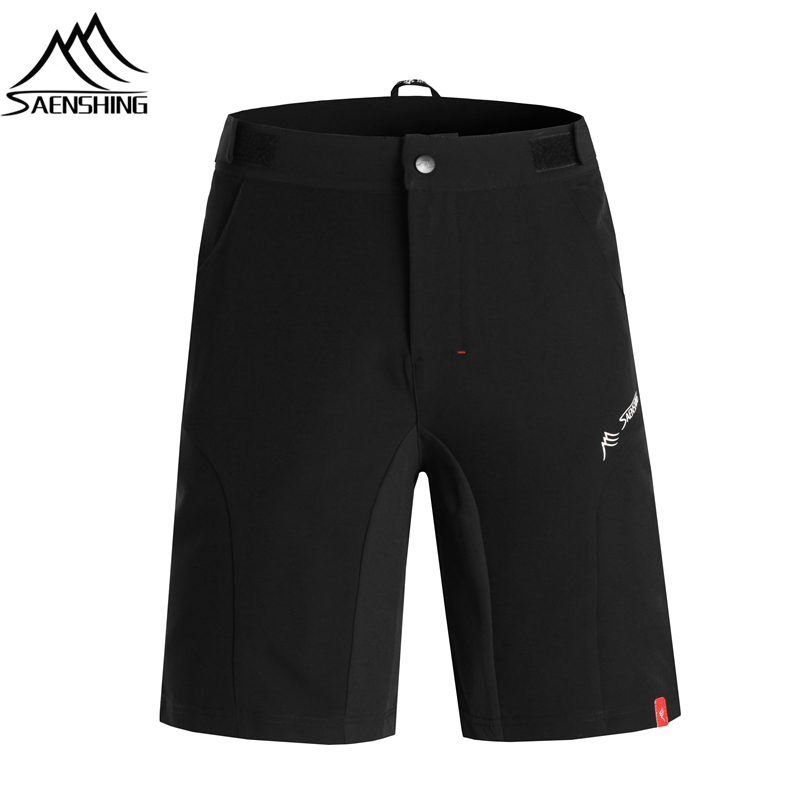 цена на SAENSHING Cycling Shorts Men Bicycle Downhill Mtb Shorts Adjustable Waist Mountain Bike shorts Sport Short Vtt bermuda ciclismo
