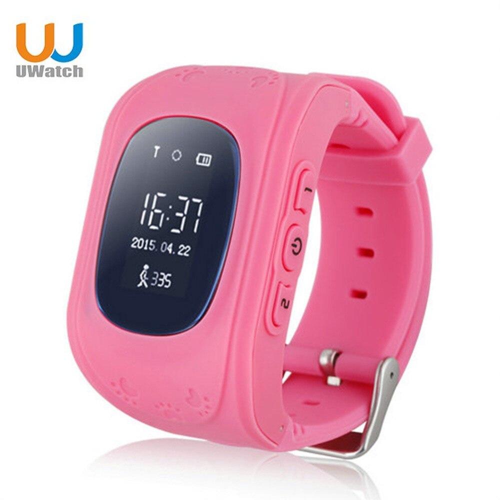 imágenes para Niños Reloj Inteligente Caliente Q50 Llamada SOS para Niños Reloj GSM GPRS Localizador GPS Tracke Teléfono Móvil Perdido Anti Monitor de Bebé Regalo