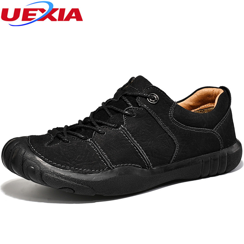 UEXIA Outdoor Sport Man Leisure Shoes Synthetic Soft Lightness Leather Fashion Casual Sneakers Breathable Zapatos Hombre Lace-up 2016 new autumn winter man casual shoes sport male leisure chaussure laced up basket shoes for adults black