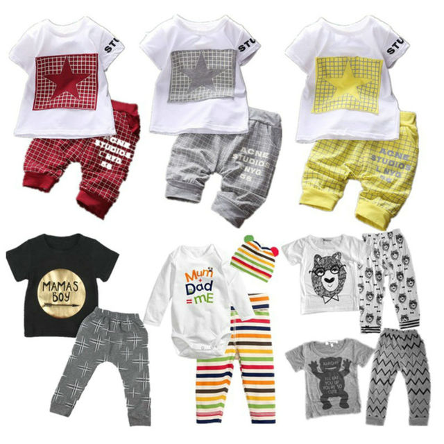 553c5c0ec Cotton Newborn Baby Girl Clothes Winter Spring Toddler Baby Suits ...