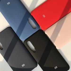 Image 1 - Für Xiaomi 9/Redmi Hinweis 7 Pro fall luxus flüssigkeit silikon schutzhülle super bequem telefon shell