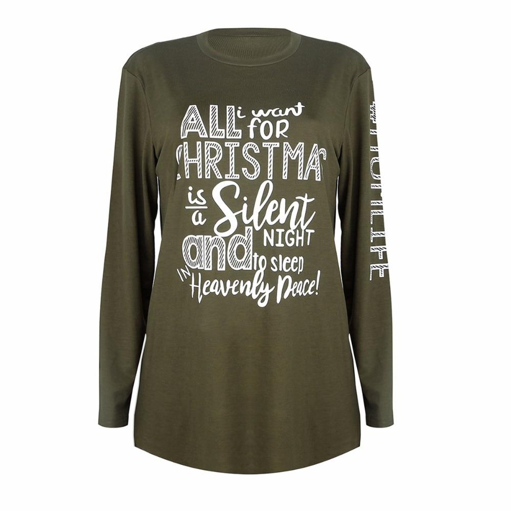 83dad6042a2 Mom Life T Shirt Women Fashion Graphic Tees Women O Neck Long Sleeve Long  Tunic Tops For Women Christmas T Shirt-in T-Shirts from Women's Clothing on  ...