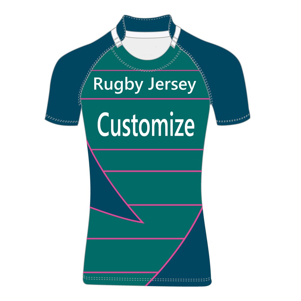 Maillot de Rugby saibike personnaliser maillot de Rugby australie sublimé maillot de rugby homme