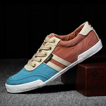 2016 Spring And Autumn New Arrival Fashion Men Casual Canvas Shoes Mixed Colors Breathable Men Flats Men Canvas Shoes 39-44