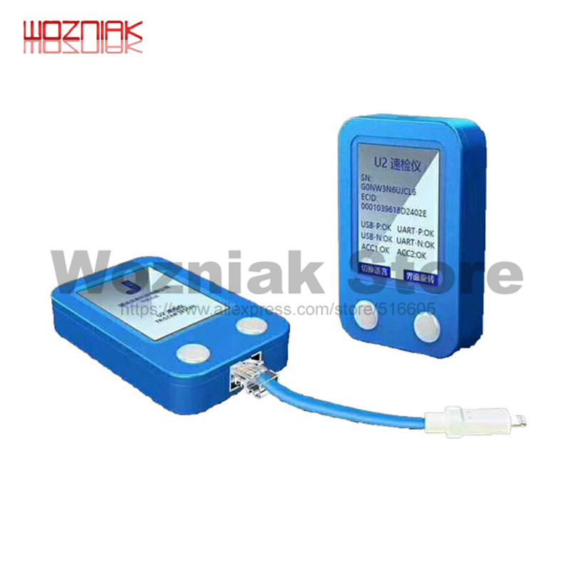 Image 4 - WOZNIAK JC U2 Tristar Tester Fast Detector for iPhone U2 Charge IC Fault Fast Tester SN Serial Number Fast Detector Reader-in Power Tool Sets from Tools