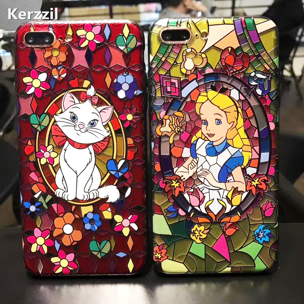 Kerzzil Snow White Mermaid Cute Case For iPhone7 6 6s Plus